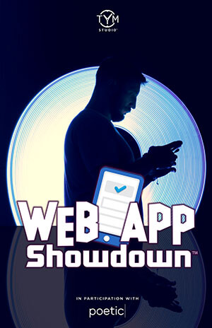 Web App Showdown Poster